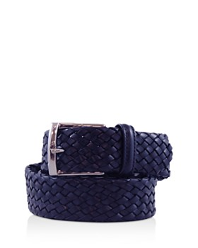 Anderson's - Tubular Leather Woven Belt