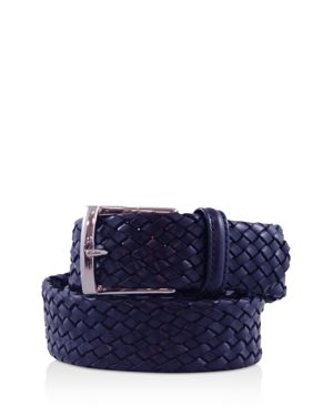 Anderson's Tubular Leather Woven Belt thumbnail
