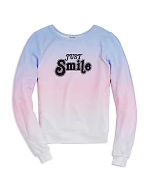 Wildfox Girls' Just Smile Pullover - Big Kid