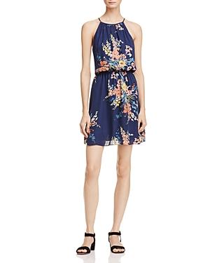 Joie Makana Floral Print Silk Dress