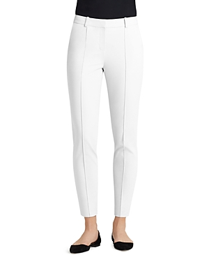 Lafayette 148 New York Seamed Skinny Ankle Pants
