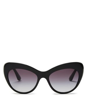 Dolce & Gabbana Cat Eye Sunglasses, 52mm
