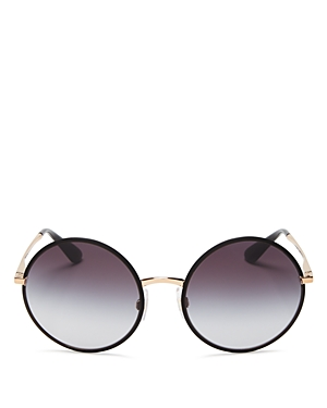 Dolce & Gabbana Round Sunglasses, 56mm