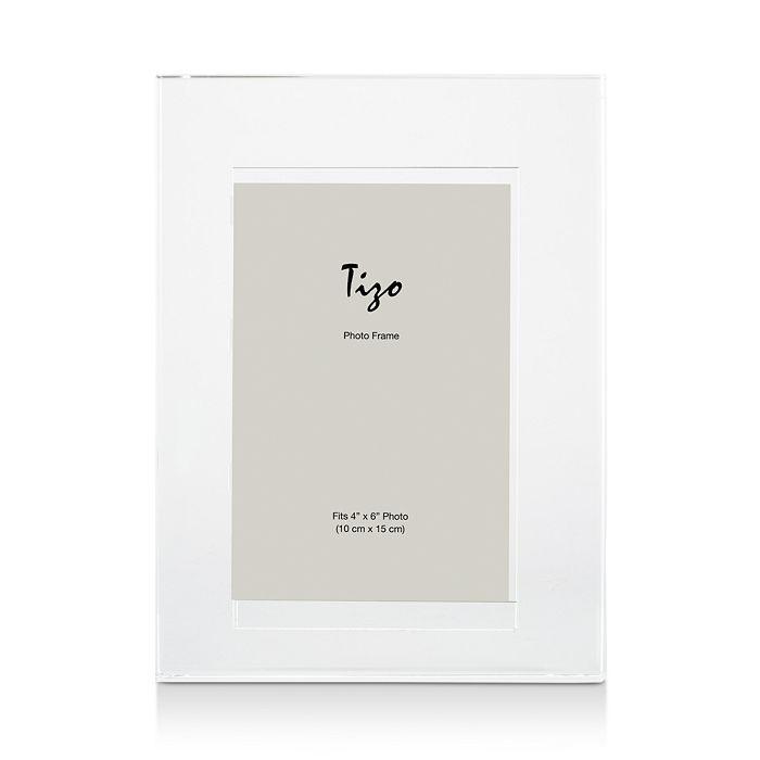 "Tizo - Crystal Plain Frame, 5"" x 7"""