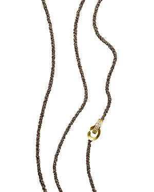 Antonini 18K Yellow Gold Matera Chain and Diamond Necklace, 42