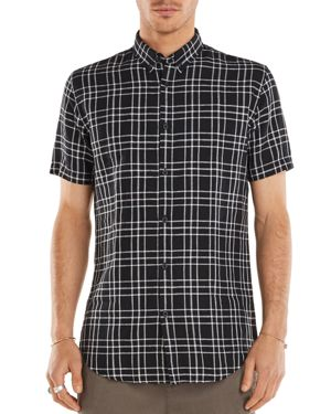 Zanerobe Plaid Regular Fit Button-Down Shirt