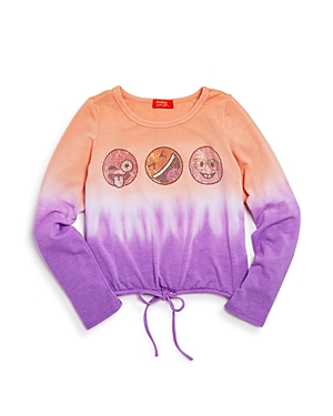 Butter Girls' Emoji Malibu Dip-Dye Sweater - Big Kid
