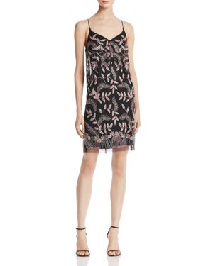 Aidan Mattox Tiered Embellished Dress