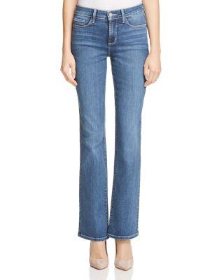 NYDJ 'Samantha' Stretch Slim Straight Leg Jeans in Heyburn