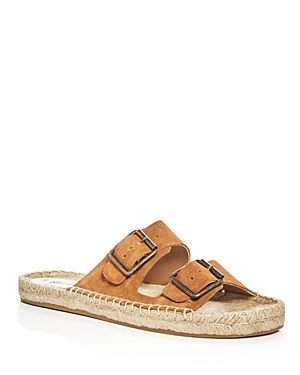 Soludos Elba Double Buckle Espadrille Sandals