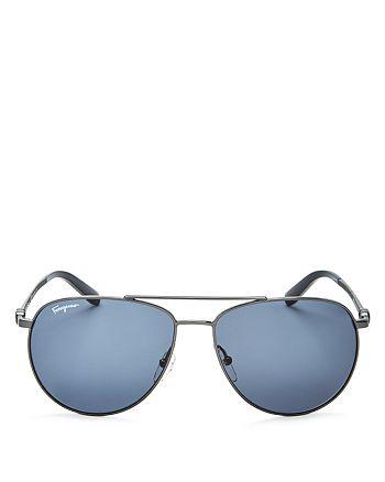8639250a93763 Salvatore Ferragamo - Men s Aviator Sunglasses
