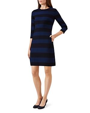 Hobbs London Gracie Striped Dress