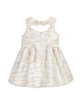 US Angels - Girls' Striped Jacquard Dress - Little Kid