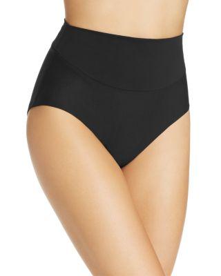 AMORESSA Martini High Waist Tankini Bottom in Black