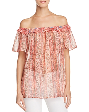 French Connection Malika Off-the-Shoulder Top
