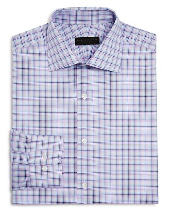 Ike Behar - Check Regular Fit Dress Shirt