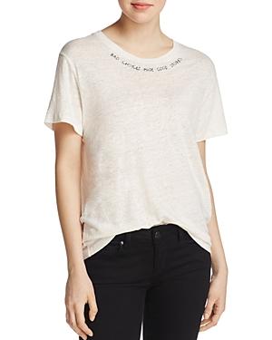 Iro. jeans Talais Linen Graphic Tee