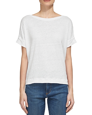 Whistles Boat Neck Tee