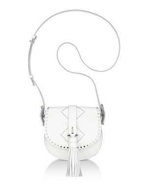 Anne Klein Kate Studded Leather Crossbody