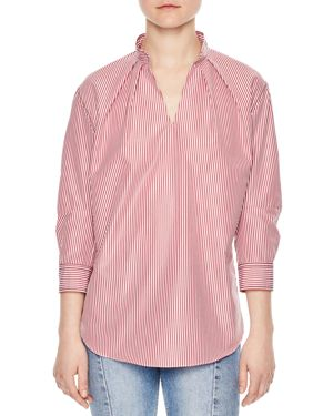 Sandro Doty Striped Top