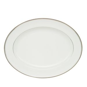 Waterford Crystal Kilbarry Platinum Oval Platter