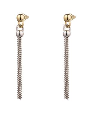 Eddie Borgo Ball & Chain Tassel Earrings