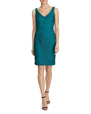 Lauren Ralph Lauren Crochet Lace Sheath Dress