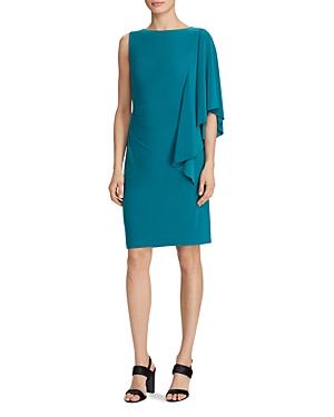 Lauren Ralph Lauren Flutter-Sleeve Dress