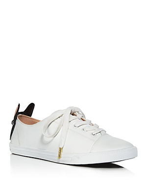 kate spade new york Lucie Low Top Lace Up Sneakers