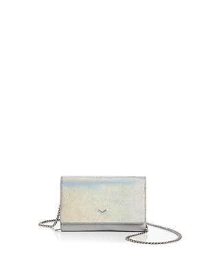 Botkier Soho Hologram Metallic Leather Chain Wallet