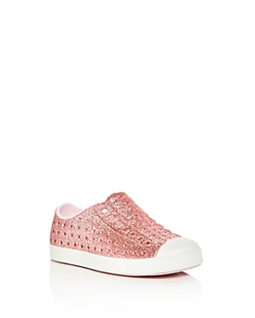 Native - Girls' Jefferson Waterproof Slip-On Sneakers - Walker, Toddler, Little Kid