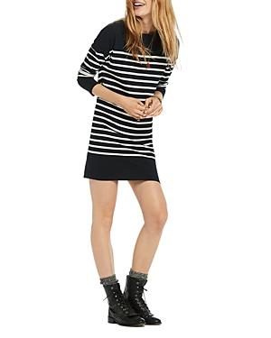 Scotch & Soda Breton-Striped Sweater Dress
