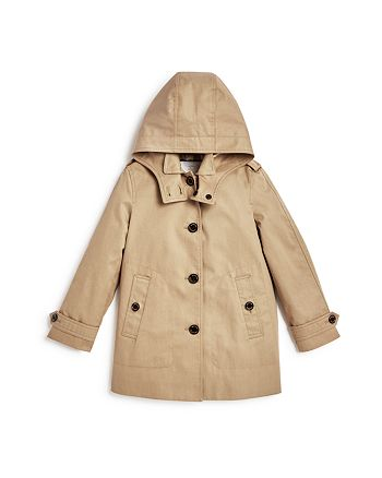 Burberry - Girls' Trench Coat - Little Kid, Big Kid