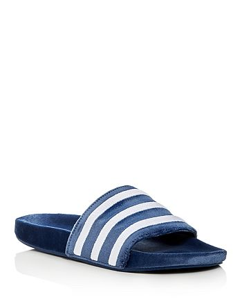 990b2db39159 Adidas - Men s Adilette Velvet Slide Sandals