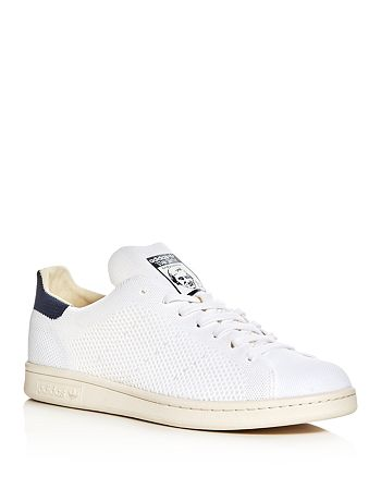 Adidas - Men's Stan Smith Prime Knit Lace Up Sneakers