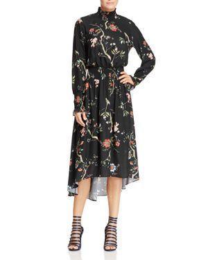 nanette Nanette Lepore Smocked High Neck Dress - 100% Exclusive
