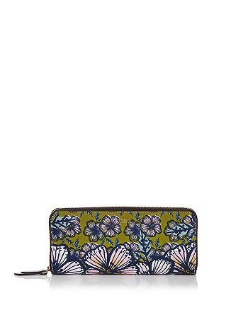 Furla - Gioia Zip Around Printed Extra Large Leather Wallet