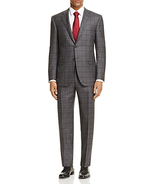 Canali Plaid Classic Fit Suit