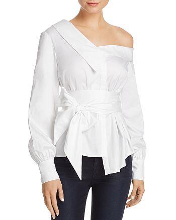 Bardot - Karlie Asymmetric Shirt - 100% Exclusive