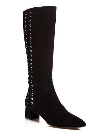 Aquatalia - Women's Perri Weatherproof Laced Tall Boots - 100% Exclusive