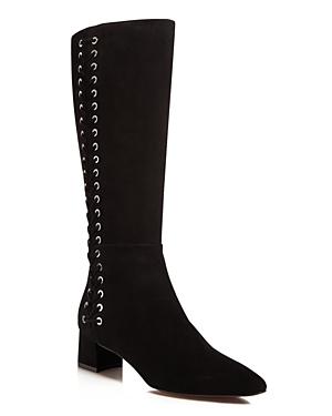 Aquatalia Perri Weatherproof Laced Tall Boots - 100% Exclusive