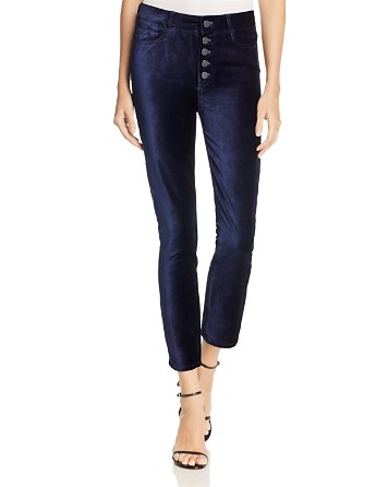 $PAIGE Hoxton Ankle Peg Jeans in Velvet - 100% Exclusive - Bloomingdale's