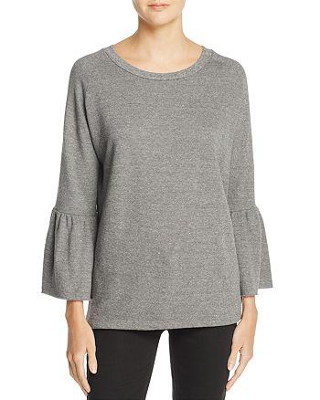 Current/Elliott - Ruffle Sleeve Sweatshirt – 100% Exclusive