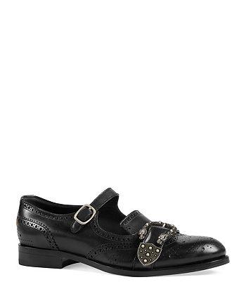 Gucci - Men's Queercore Brogue Monk Shoes