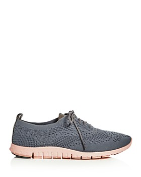 Cole Haan - Women's ZeroGrand Stitchlite Knit Lace Up Oxford Sneakers