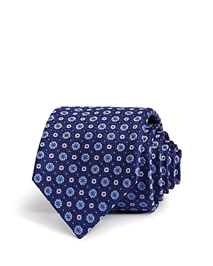 Canali Floral Dot Classic Tie