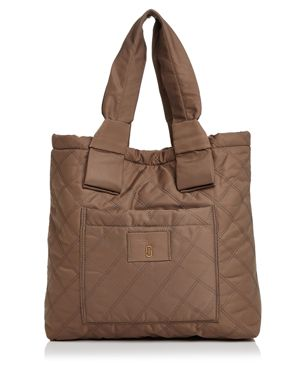 Marc Jacobs Knot Quilted Nylon Tote