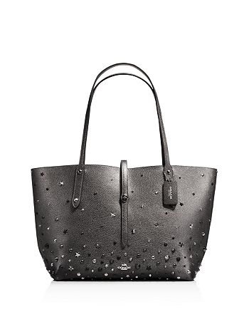 8301c9ba1c COACH - Market Tote with Star Rivets