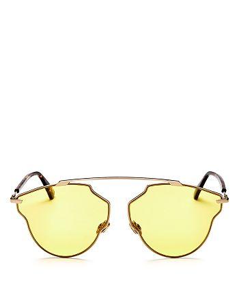 d1e46f2ed71b Dior Women's So Real Pop Brow Bar Geometric Sunglasses, 58mm ...