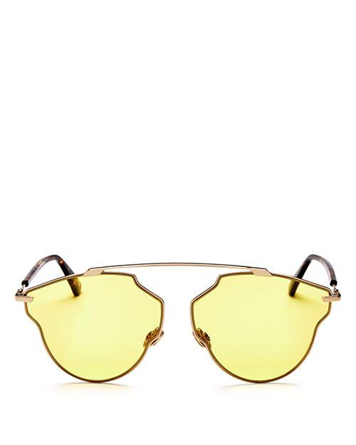 Dior - Women's So Real Pop Brow Bar Geometric Sunglasses, 58mm